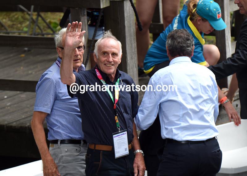 Joop Zoetemelk during the Team Presentation of the 2015 Tour de Francet