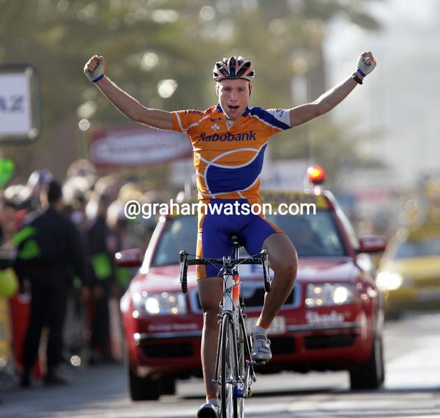 Joost Posthuma wins stage 6 of the 2005 Paris-Nice