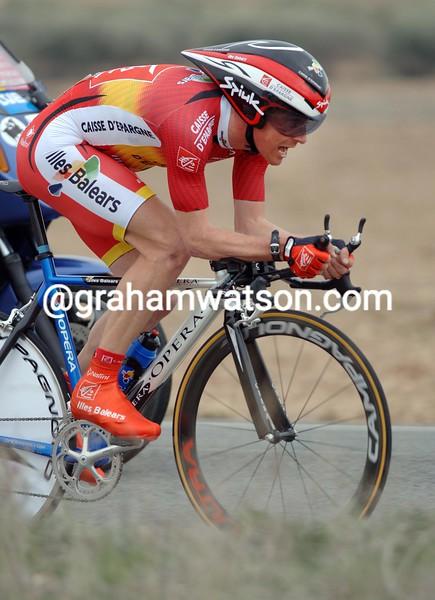 Jose-Ivan Gutierrez in the 2006 Tour of Murcia