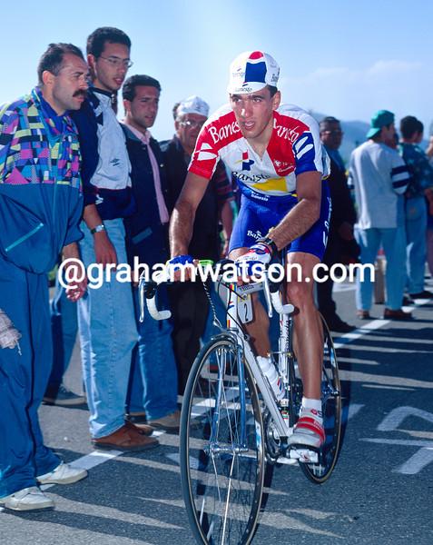 Jose-Luis Arrieta in the 1994 Giro d'Italia