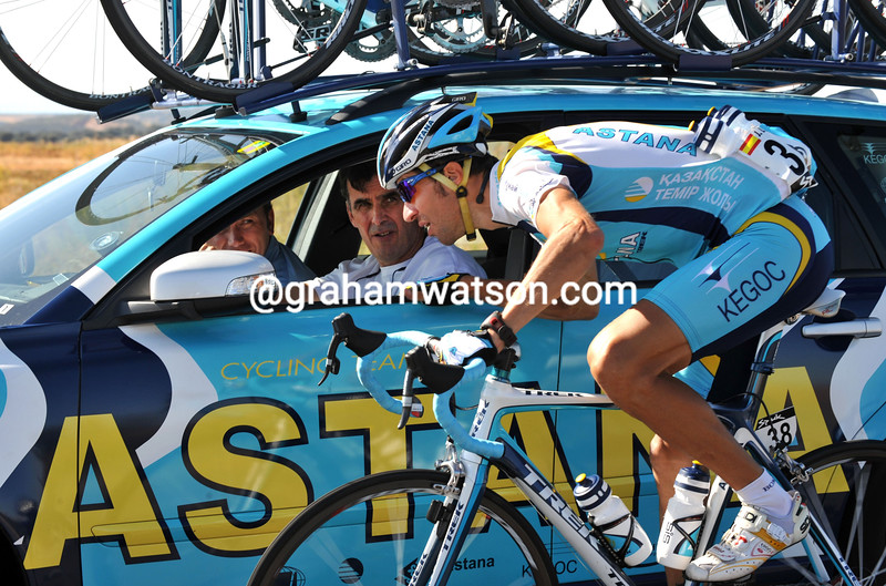 JOSE LUIS RUBIERA ON STAGE SIXTEEN OF THE 2008 TOUR OF SPAIN