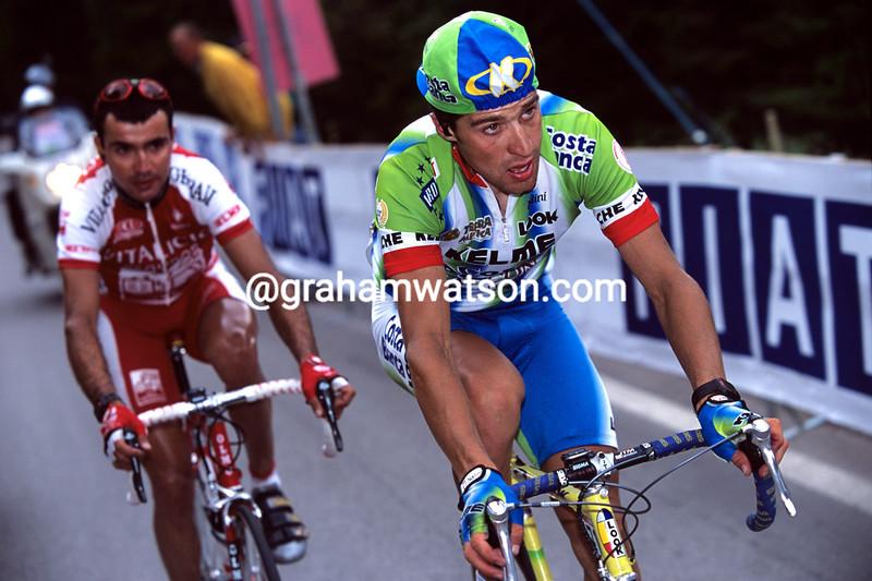 Jose-Luis Rubiera in the 2000 Giro d'Italia