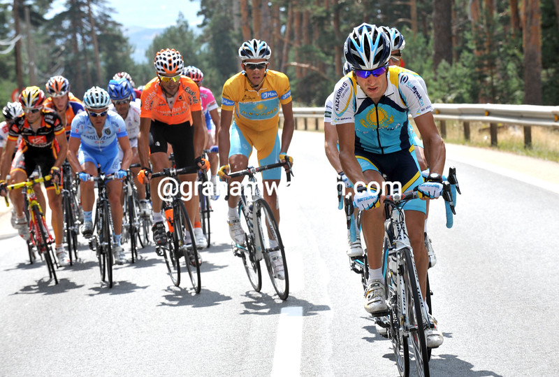 JOSE LUIS RUBIERA ON STAGE NINETEEN OF THE 2008 TOUR OF SPAIN