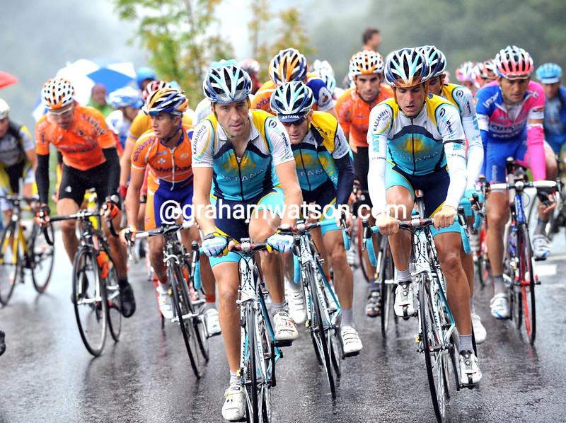 JOSE LUIS RUBIERA LEADS ASTANA ON STAGE SEVEN OF THE 2008 TOUR OF SPAIN