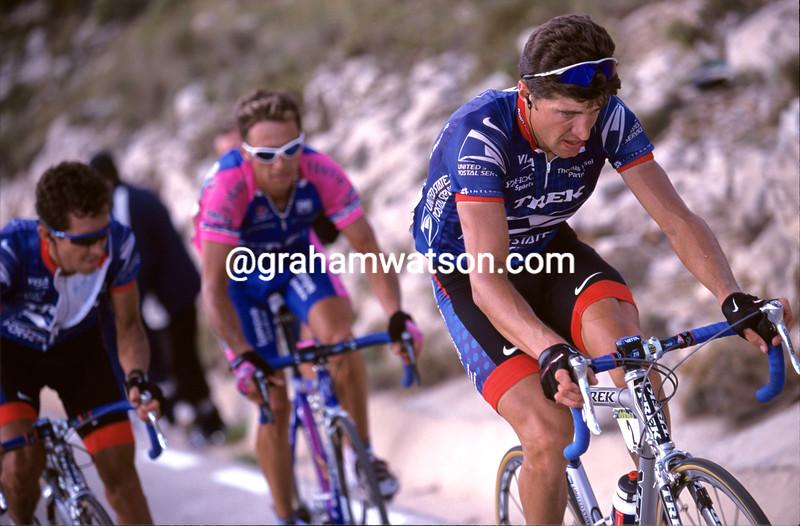 Jose-Luis Rubiera in the 2003 Tour of Spain