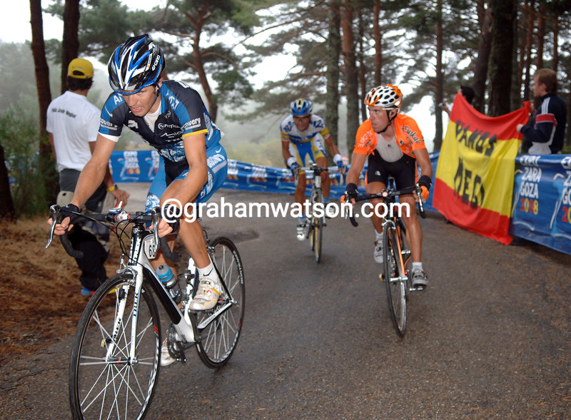 JOSE LUIS RUBIERA ON STAGE NINETEEN OF THE 2007 TOUR OF SPAIN