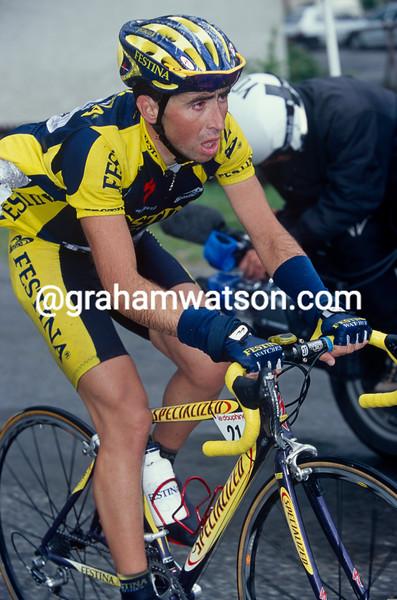 Joseba Beloki in the 1999 Dauphine-Libere