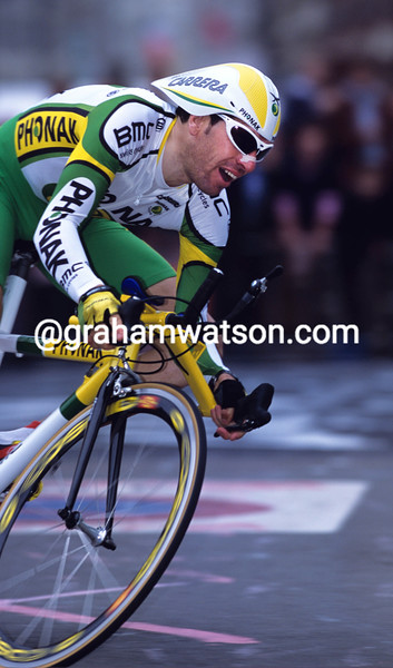 Juan-Carlos Dominguez in the 1994 Giro d'Italia