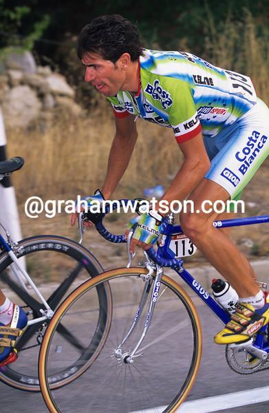 Juan-Carlos Dominguez in the 1998 Vuelta a España