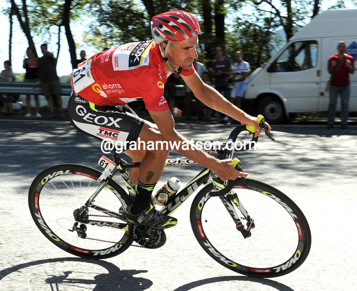 JUAN JOSE COBO ON STAGE NINETEEN OF THE 2011 TOUR OF SPAIN