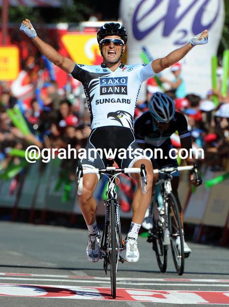 JUAN JOSE HAEDO WINS STAGE SIXTEEN OF THE 2011 TOUR OF SPAIN
