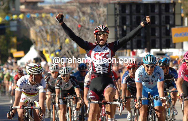 JUAn jose HAEDO WINS STAGE SIX OF THE TOUR OF CALIFORNIA