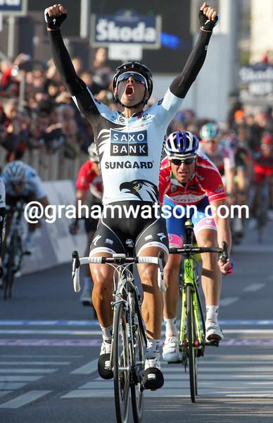 JUAN JOSE HAEDO WINS ON STAGE THREE OF THE 2011 TIRRRENO-ADRIATICO