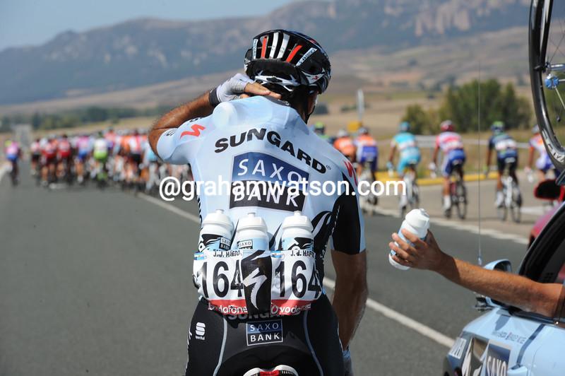 JUAN JOSE HAEDO IN THE 2011 TOUR OF SPAIN