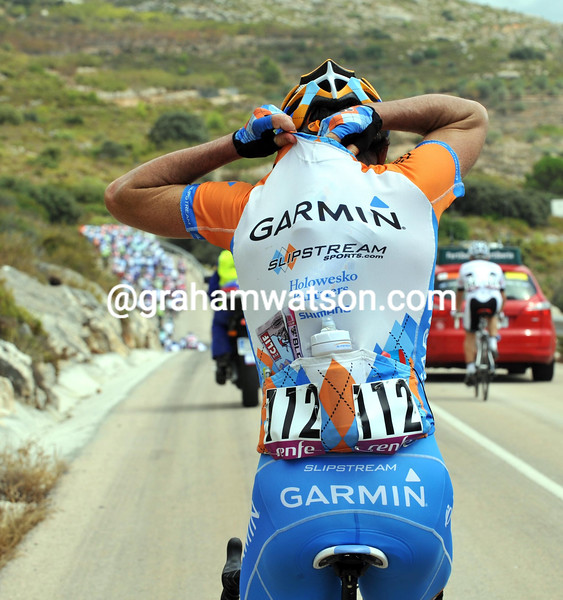 JULIAN DEAN ON STAGE EIGHT OF THE 2009 TOUR OF SPAIN