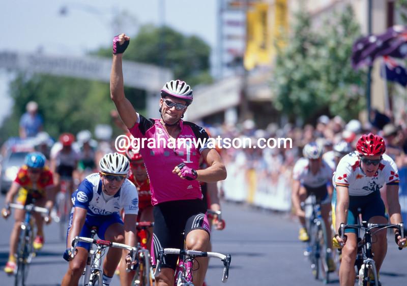 Kai Hundertmarck in the 2000 Tour Down Under