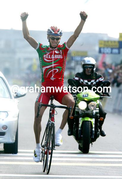 Kanstantsin Siutsou wins the 2004 U-23 World Championships