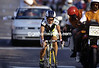 KATHY WATT WINS THE 1992 OLYMPIC GAMES ROAD RACE