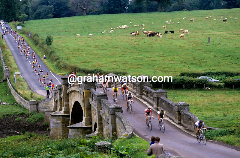 Cyclists in the 1991 Tour of Britain
