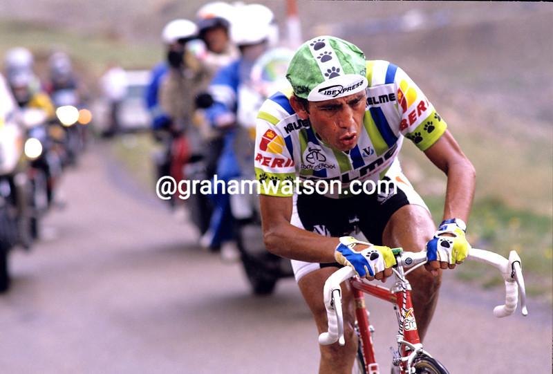 Fabio Parra in the 1988 Tour de France