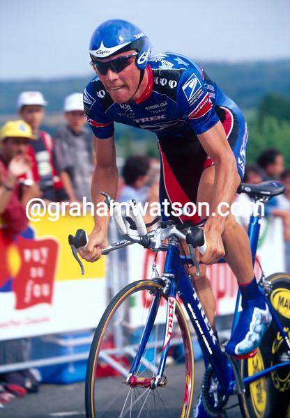 Kevin Livingston in the 1999 Tour de France