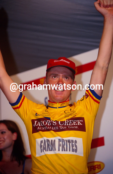 Koos Moerenhout in the 2000 Tour Down Under