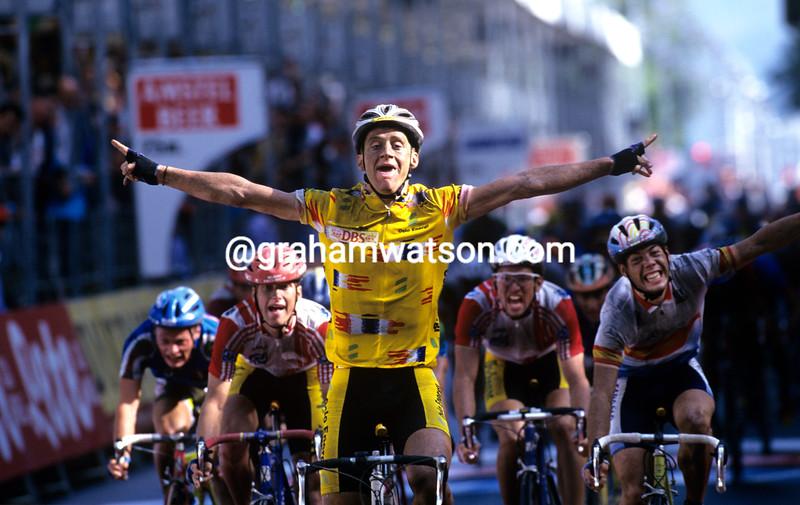 Kurt Asle Arvesen wins the 1997 World title