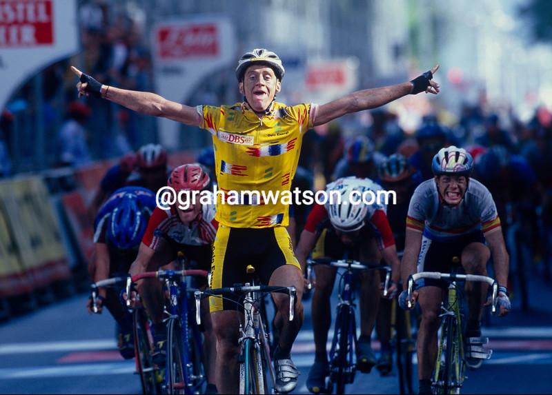 Kurt-Atle Arvesen at the 1994 World Championships