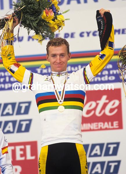 Kurt Asle Arvesen wins the 1997 World U-23 Championship