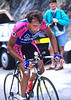Roberto Conti races to victaory at Alpe d'Huez in the 2000 Tour de France