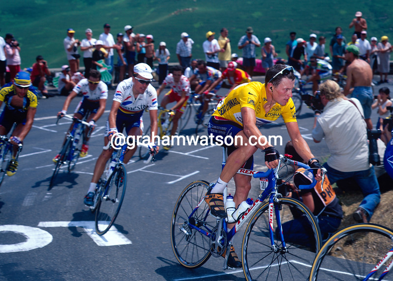 Lance Armstrong in the 1999 Tour de France