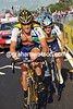It took Lance Armstrong until stage 16 of the Giro to find his true strength - this was where teamate Leipheimer succumbed to the heat and strain and needed Armstrong to help him through, a star turned servant, turned star-servant...