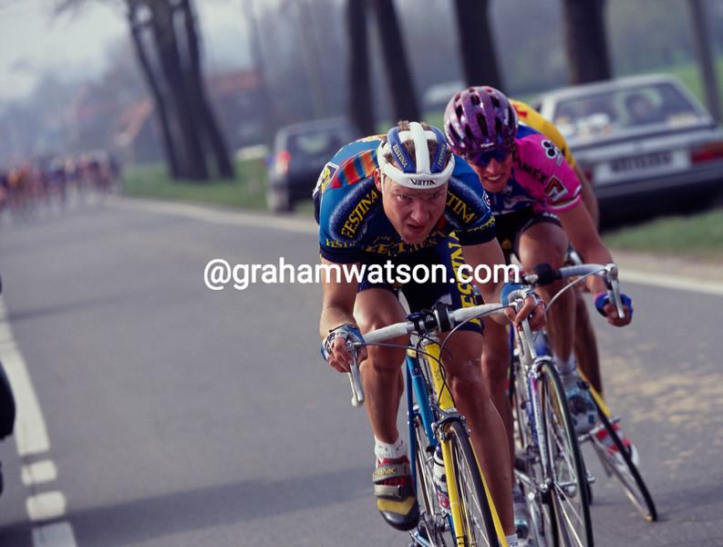 Lars Michaelsen in the 1996 Ghent-Wevelgem