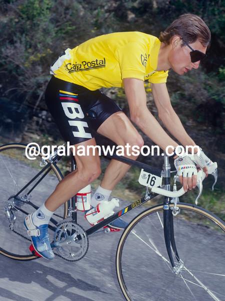 Laudelino Cubino in the 1986 Tour of Spain