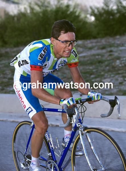 Laudelino Cubino in the 1994 Giro d'Italia