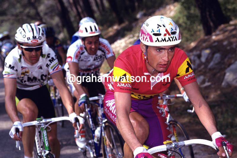 Laudelino Cubino in the 1991 Paris-Nice