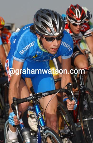 Laurens Ten Dam in the 2005 Tour of Qatar
