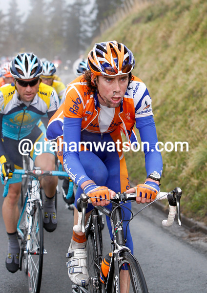 Laurens Ten Dam in the 2008 Tour of the Basque Country