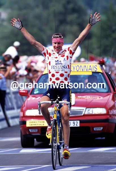 Laurent Brochard in the 1997 Tour de France