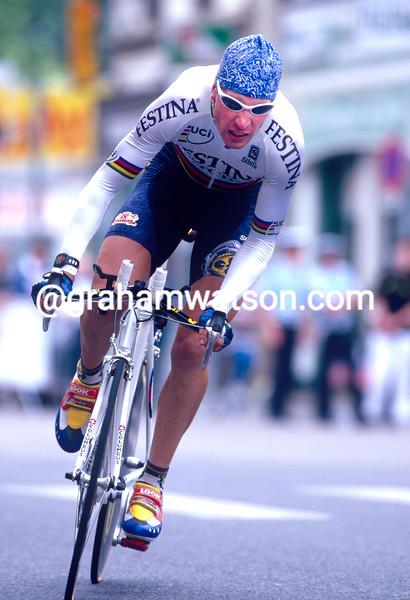 Laurent Brochard in the 1998 Dauphine-Libere