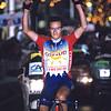 Laurent Desbiens wins a stage into Digne-les-Bains in the 1990 Dauphiné-Libéré