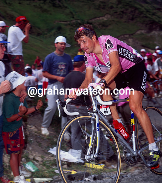 Laurent Dufaux in the 1995 Tour de France