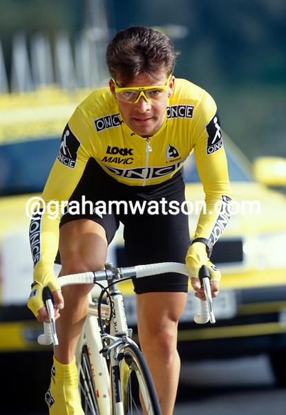 Laurent Dufaux in the 1994 Paris-Nice