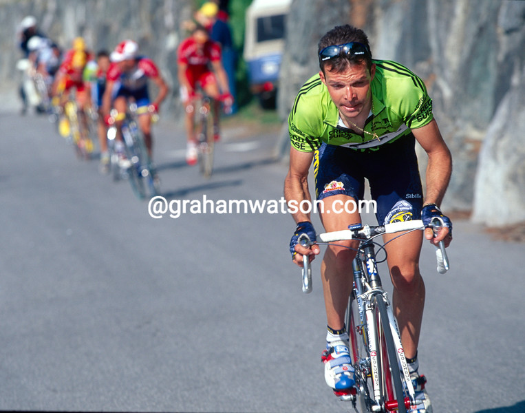 Laurent Dufaux in the 1998 Tour de Romandie