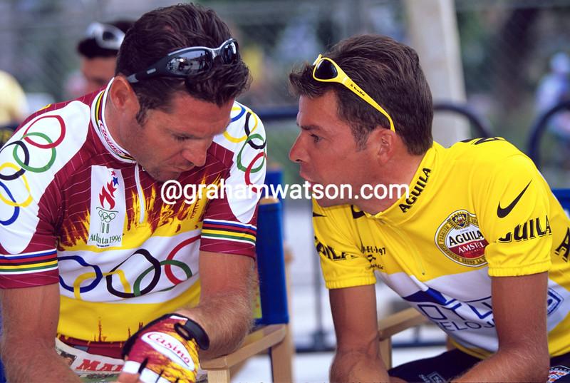 Pascal Richard and Laurent Dufaux