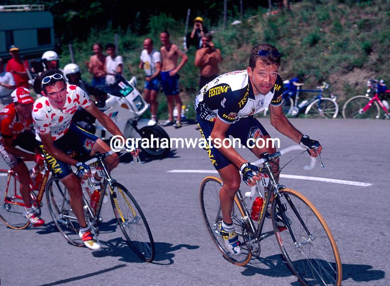 Laurent Dufaux in the 1997 Tour de France