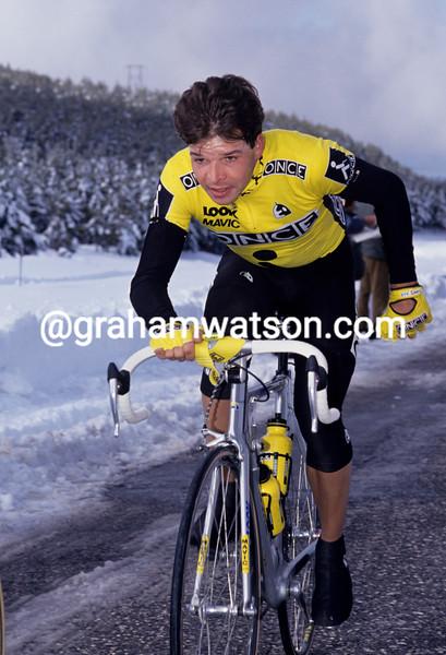 Laurent Dufaux in the 1992 Ruta del Sol