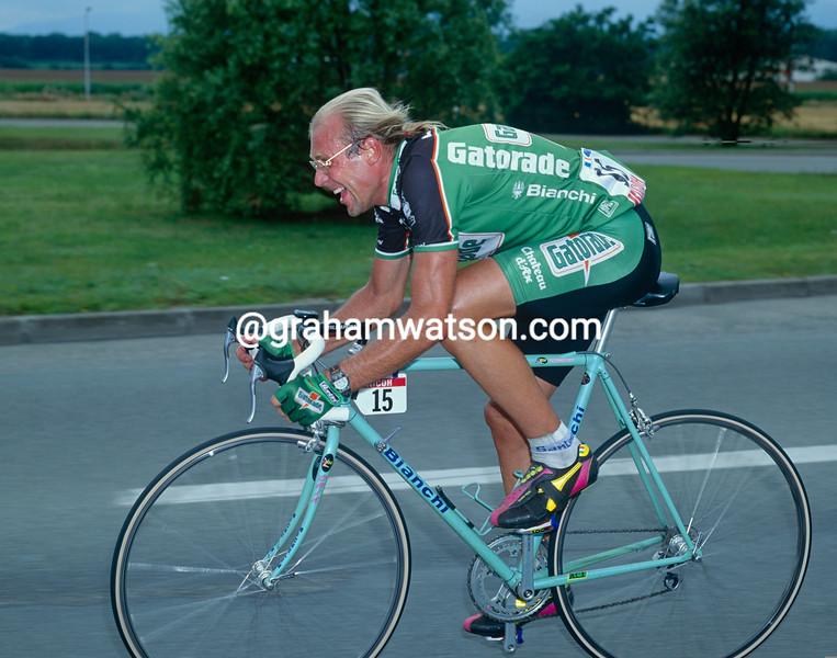Laurent Fignon in the 1992 Tour de France