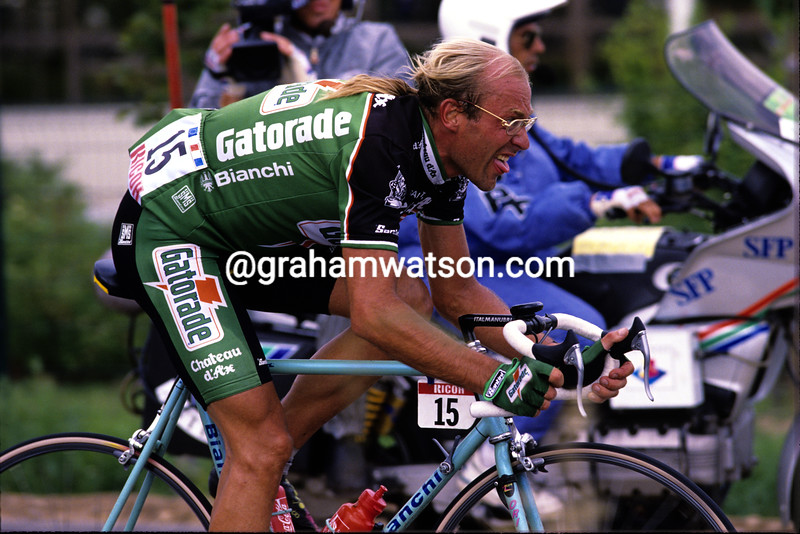 Laurent Fignon in the 1992 Tour de France