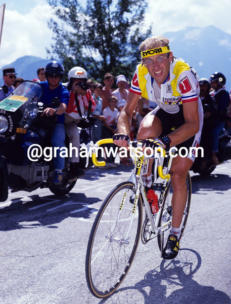 Laurent Fignon in the 1988 Tour de France